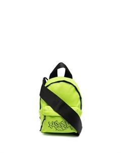 Мини рюкзак с логотипом Msgm