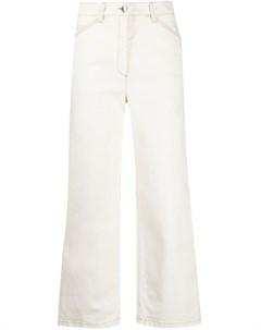 Укороченные джинсы прямого кроя Luisa cerano