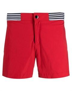 Плавки шорты с отделкой в полоску Ron dorff