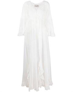 Платье с длинными рукавами Ermanno ermanno