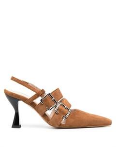 Туфли с пряжкой сбоку Kalda