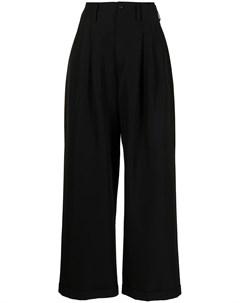 Широкие брюки со складками Sankuanz
