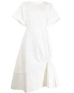Присборенное платье миди Eudon choi