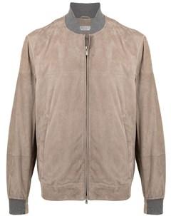 Куртка бомбер на молнии Brunello cucinelli