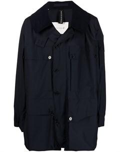 Куртка System с вельветовым воротником Mackintosh