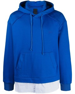 Многослойный пуловер с капюшоном Juun.j