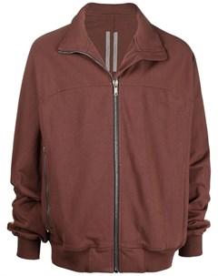 Куртка на молнии с высоким воротником Rick owens