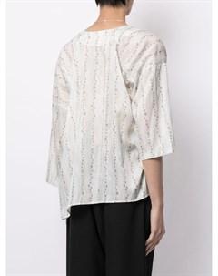 Рубашка с принтом Sulvam