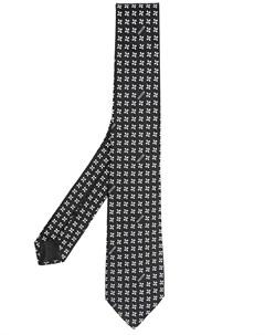 Галстук с вышивкой Moschino