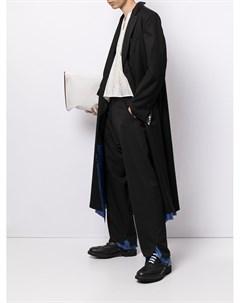 Многослойное однобортное пальто Sulvam