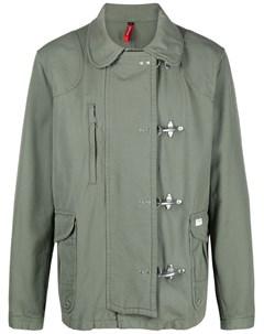 Куртка с застежкой на крючках Fay