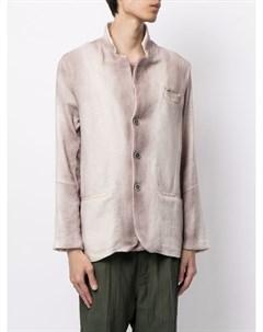 Однобортный пиджак с эффектом градиента Avant toi