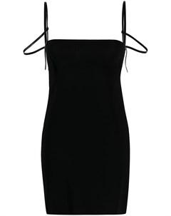 Платье с открытой спиной Dsquared2