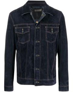 Куртка с контрастной строчкой Philipp plein