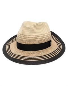 Шляпа с логотипом Giorgio armani