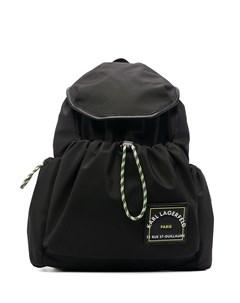 Рюкзак с нашивкой логотипом Karl lagerfeld