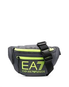Поясная сумка с логотипом Ea7 emporio armani