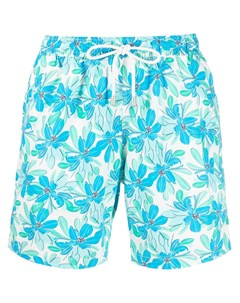 Плавки шорты с кулиской и цветочным принтом Bluemint