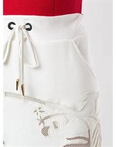 Юбка мини Shelby с вышивкой Andrea bogosian