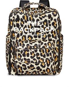 Рюкзак The Backpack с леопардовым принтом Marc jacobs