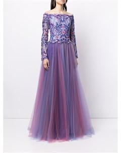 Платье Eshima Ethereal с цветочной вышивкой Tadashi shoji