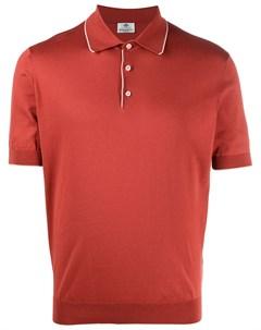 Рубашка поло с контрастной отделкой Borrelli