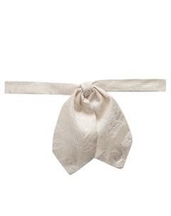Жаккардовый галстук бабочка с узором Dolce&gabbana