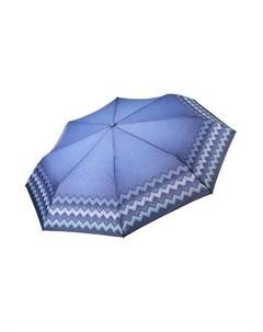 Складной зонт автомат с узорами Fabretti