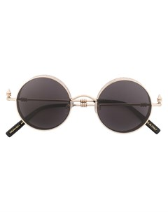 Солнцезащитные очки Palmette в круглой оправе Okhtein