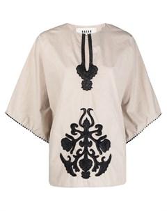 Блузка с вышивкой Bazar deluxe