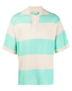 Трикотажная рубашка поло в полоску Drôle de monsieur
