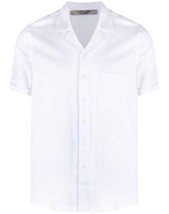 Рубашка с короткими рукавами и заостренным воротником La fileria for d'aniello