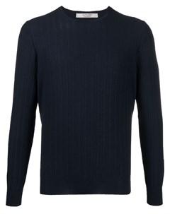 Пуловер с узором шеврон La fileria for d'aniello