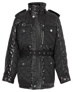 Стеганая куртка с поясом Burberry