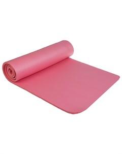 Коврик для йоги 183 61 1 см цвет розовый Sangh
