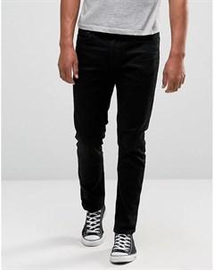 Узкие черные джинсы River island