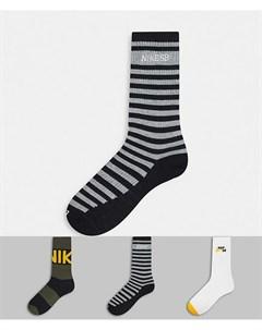 Набор из 3 пар носков Nike Everyday Max Lightweight Nike sb