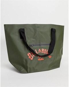 Большая сумка тоут зеленого цвета Beach All Day Billabong