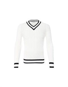 Хлопковый пуловер Gran sasso