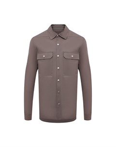 Хлопковая куртка рубашка Rick owens