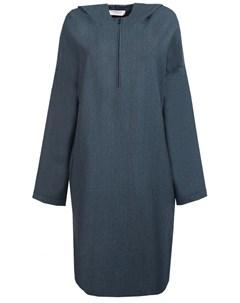 Шерстяное платье с капюшоном Ereda