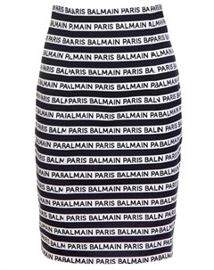 Мини юбка карандаш Balmain