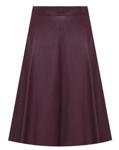 Кожаная юбка Simonetta ravizza