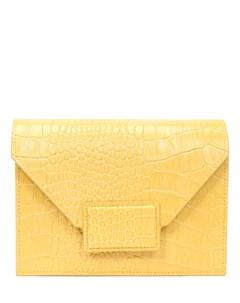 Сумка кожаная Vintage Yellow Fetiche