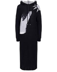 Платье трикотажное с капюшоном Ereda