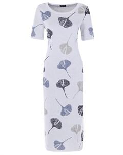 Платье трикотажное с принтом Anneclaire