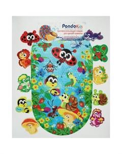 Коврик Kids Набор для ванны Веселая Полянка PK 0044 Pondo