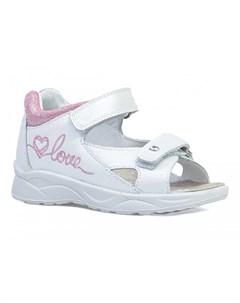 Туфли открытые для девочки 122182 Котофей