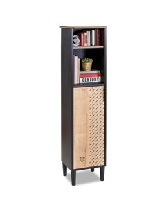 Шкаф книжный Black Cilek