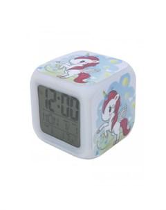 Часы Будильник Единорог с подсветкой 15 Mihi mihi